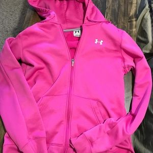 Under armour zip it up